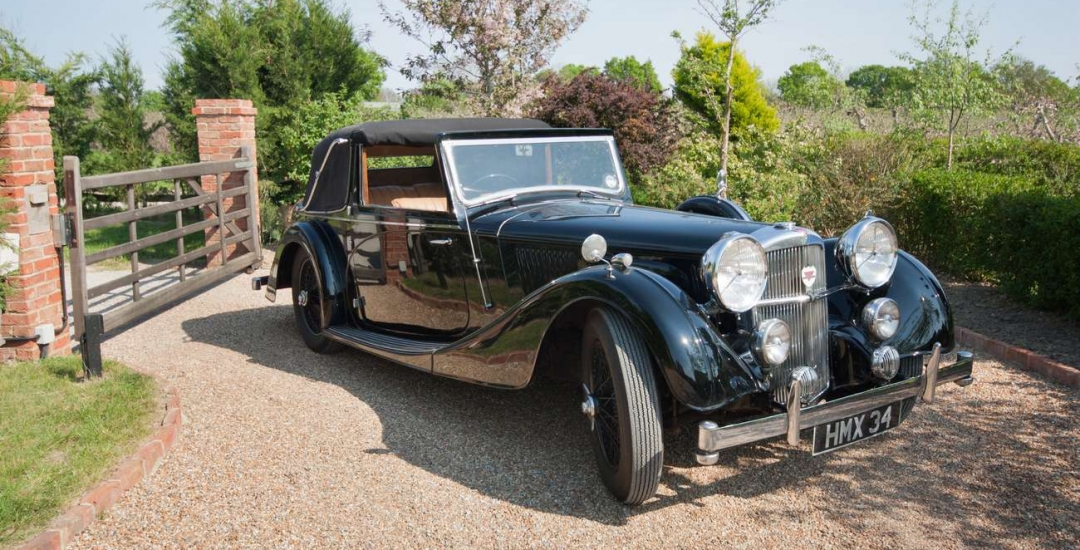 Alvis 3.5 litre Speed 25 1937